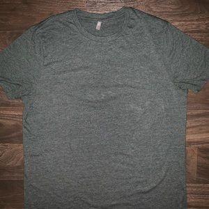 Light-ish dark green ASOS shirt